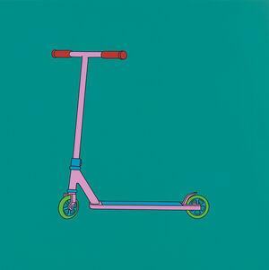 Untitled (scooter)