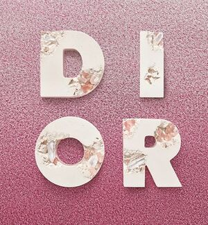 Eroded D.I.O.R Letters, 2020