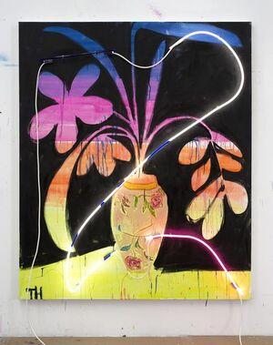 Neon Uplifting Painting 2