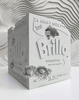 Eroded Brillo Box