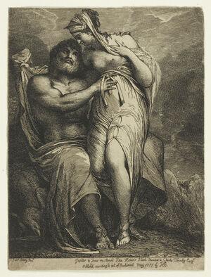 Jupiter and Juno on Mount Ida.