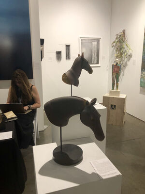 Seager Gray Gallery at Seattle Art Fair 2019, installation view
