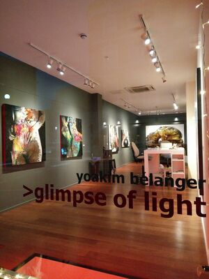 Glimpse of light, installation view