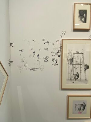 Alzueta Gallery at Art on Paper 2020, installation view