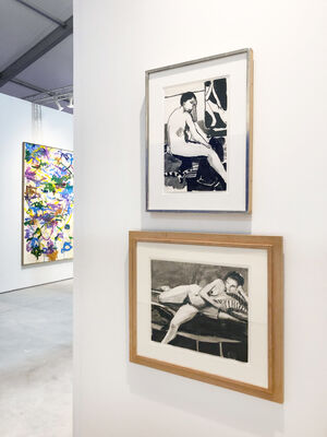Leslie Feely at Art Miami 2019, installation view