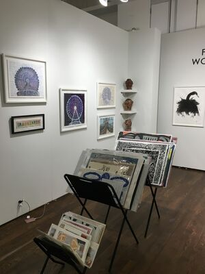 Creativity Explored at Outsider Art Fair 2019, installation view