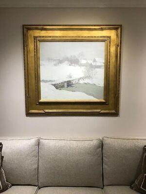 Menconi+Schoelkopf at The American Art Fair 2018, installation view