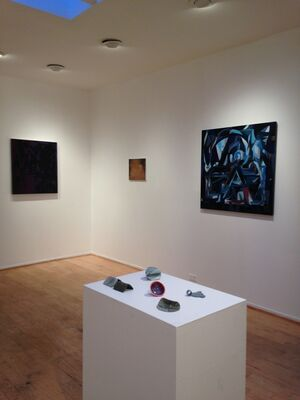 Jonathan Apgar, Tiffany Livingston, Alisa Ochoa & Victor Reyes :: Out of Body - Curated by Rema Ghuloum, installation view