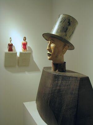JOE BRUBAKER:   Small is Beautiful, Recent Figurative Sculpture, installation view