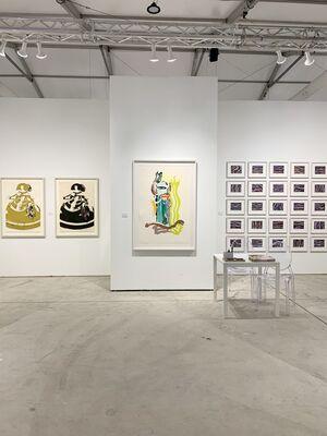 Galerie Raphael at Art Miami 2019, installation view