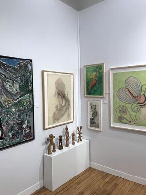 Cavin Morris Gallery at Outsider Art Fair Paris 2018, installation view