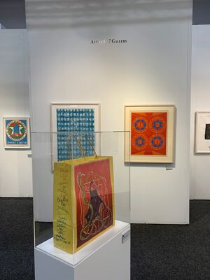 Alpha 137 Gallery at Art on Paper 2020, installation view