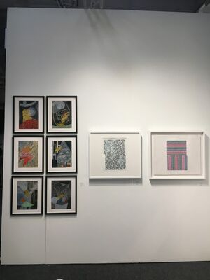 Susan Eley Fine Art at Art on Paper New York 2019, installation view