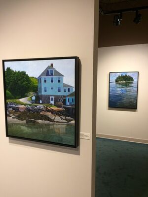 """Reflections on Water,"" Sarah Knock, installation view"
