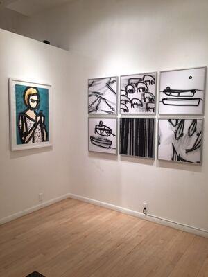 5 British Artists, installation view