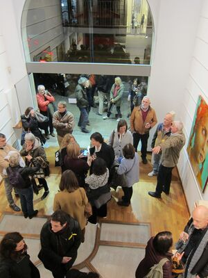 """Opening of the  exhibition """"Inland"""", installation view"""