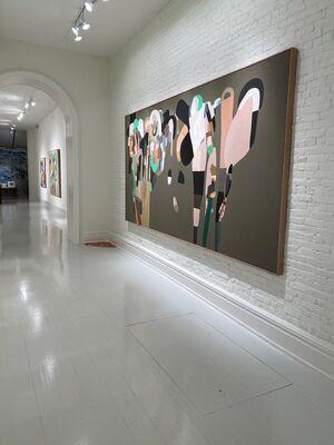 Jen Wink Hays and Sabine Finkenauer, installation view