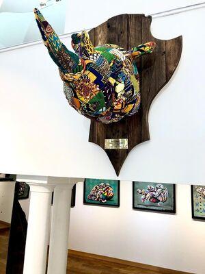 Conservation – Conversation | Louis Masai Solo Show, installation view