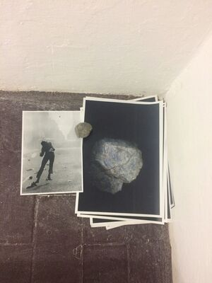 NIGHT-TIME = DARKNESS, installation view