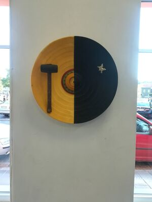 """3 Cosmi-Comics"", installation view"