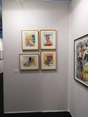 Galerie Estampe at ST-ART 2019, installation view