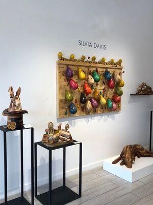 Sculpture by Silvia Davis, installation view