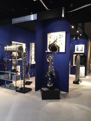 Onessimo Fine Art at Palm Beach Jewelry, Art & Antique Show 2016, installation view