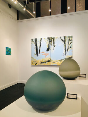 Vibrations and Manifestations, installation view