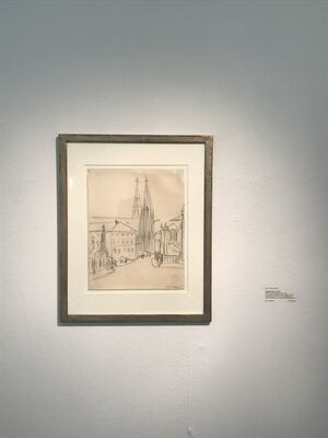 Lyonel Feininger's Nature Notes in and around Weimar - A Prelude to the Bauhaus Centenary, installation view
