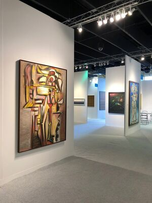 Gary Nader at The Armory Show 2019, installation view