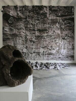 Topografías Insostenibles, installation view