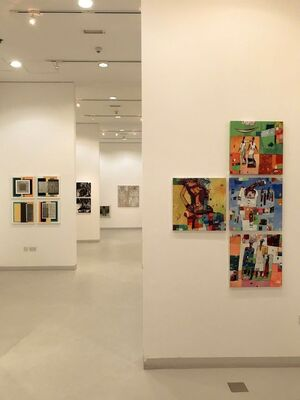 50 by 50 part 1, installation view