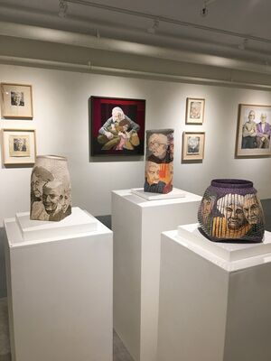 DEIDRE SCHERER Human Textures: plus collaborations with Jackie Abrams, installation view