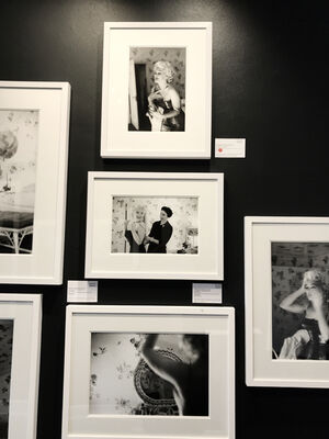 A Week With Marilyn, installation view