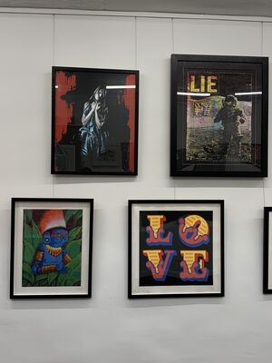 MASTERS OF CONTEMPORARY URBAN ART, installation view