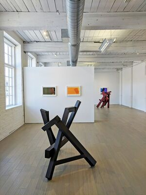 Willard Boepple: Built and Printed, installation view