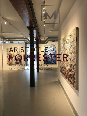 Aristotle Forrester | Binary Atmospheres & Subconscious Kingdoms, installation view