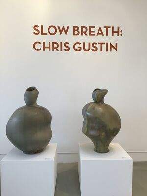Slow Breath: Recent Works by Chris Gustin, installation view