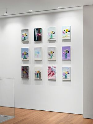 Cynthia Daignault: There is nothing I could say that I haven't thought before, installation view