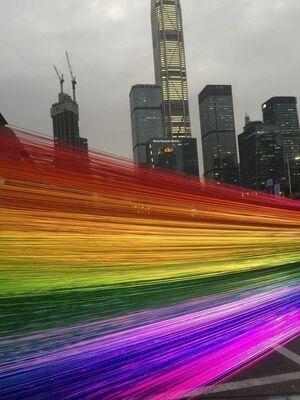 Liao Bin Bin: Transparency, installation view