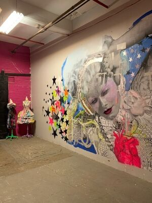 A Studio Visit & Sale with Holly Suzanne, installation view