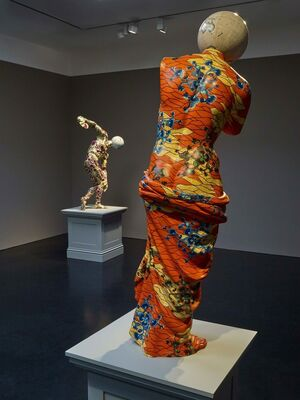 Yinka Shonibare MBE ...and the wall fell away, installation view
