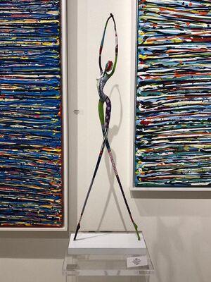 Blue Gallery at Market Art + Design 2019, installation view