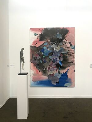 Eric Dupont at Art Brussels 2019, installation view