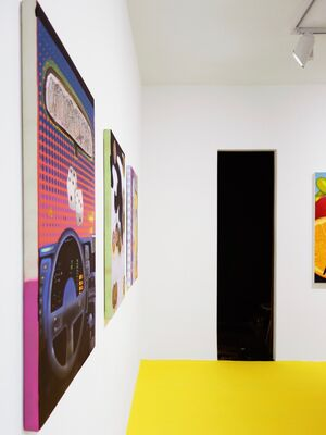 Anderson's Hidden Game, installation view