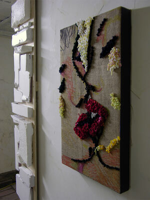 Hooking Up With Dave, installation view