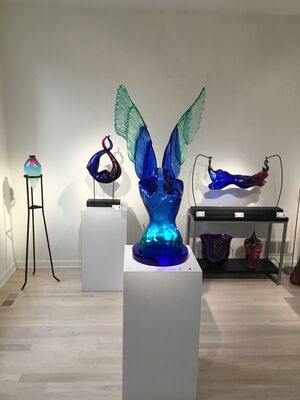 Murano Glass - Spring in the Midwest, installation view