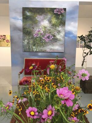 Claire Basler, installation view