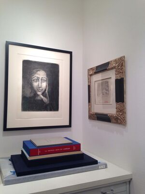 Then and Now: Modern, Postwar, and Contemporary Prints, installation view