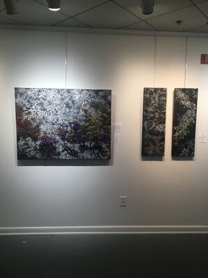 Intersections : Spring 2020 Survey of Select Morton Fine Art Artists, installation view